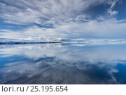 Купить «Reflections over Masvatn lake in winter, Iceland, September 2013.», фото № 25195654, снято 20 апреля 2018 г. (c) Nature Picture Library / Фотобанк Лори