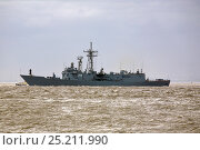 Купить «ORP General Tadeusz Kosciuszko arrives in Liverpool to be present in Liverpool for the Battle of the Atlantic 70th Anniversary commemoration (BOA 70) Liverpool...», фото № 25211990, снято 15 августа 2018 г. (c) Nature Picture Library / Фотобанк Лори