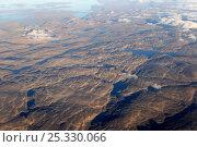 Купить «Aerial view of Baffin Island, Nunavut, Canada,  August 2010», фото № 25330066, снято 22 марта 2019 г. (c) Nature Picture Library / Фотобанк Лори