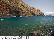 Купить «Deserta Grande coast, Desertas Islands, Madeira, Portugal, August 2009», фото № 25358418, снято 16 июля 2018 г. (c) Nature Picture Library / Фотобанк Лори