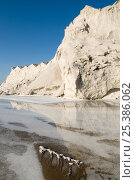 Купить «Stocks of salt at commercial salt farm, Salin de Giraud, Camargue, France, July 2008», фото № 25386062, снято 19 марта 2018 г. (c) Nature Picture Library / Фотобанк Лори