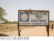 Купить «Wassu stone circles sign, Wassu. Constructed 500AD Gambia, 2007», фото № 25423054, снято 11 декабря 2017 г. (c) Nature Picture Library / Фотобанк Лори