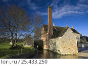 Купить «The River Eye and the Old Mill at Lower Slaughter, Gloucestershire, England», фото № 25433250, снято 21 июля 2018 г. (c) Nature Picture Library / Фотобанк Лори