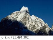 Купить «Tawache Peak, Mt Everest NP, Nepal», фото № 25491302, снято 6 августа 2020 г. (c) Nature Picture Library / Фотобанк Лори