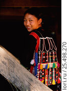 Купить «Aini woman in traditional costume Xishangbanna area, Yunnan, China. Ethnic minority group. 2002», фото № 25498270, снято 15 августа 2018 г. (c) Nature Picture Library / Фотобанк Лори
