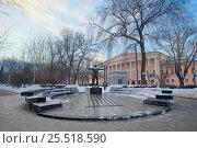 Памятник Владимиру Высоцкому на Страстном бульваре. Москва, фото № 25518590, снято 17 января 2017 г. (c) Татьяна Белова / Фотобанк Лори
