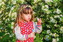 Girl playing with soap bubbles, фото № 25578190, снято 23 мая 2016 г. (c) Сергей Завьялов / Фотобанк Лори