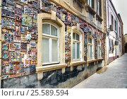 Купить «Building in Old city, Icheri Sheher. Baku», фото № 25589594, снято 10 сентября 2016 г. (c) Elena Odareeva / Фотобанк Лори