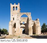 Купить «Ruins of Church of Santa Eulalia in Palenzuela», фото № 25593810, снято 15 октября 2018 г. (c) Яков Филимонов / Фотобанк Лори