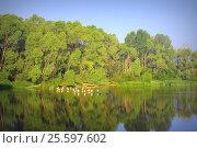 Купить «Beautiful summer landscape», фото № 25597602, снято 3 июля 2014 г. (c) Сергей Девяткин / Фотобанк Лори