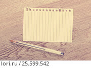 Купить «Torn-off page in line», фото № 25599542, снято 21 сентября 2018 г. (c) Яков Филимонов / Фотобанк Лори
