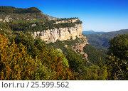 mountain landscape in Catalonia, Spain. Стоковое фото, фотограф Яков Филимонов / Фотобанк Лори