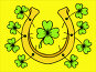 Saint Patrick's Day. Hand drawn lucky horseshoe and clover. Illustrations., иллюстрация № 25603886 (c) Виктория Муравьева / Фотобанк Лори