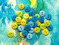 Pile of colorful buttons, фото № 25604358, снято 16 мая 2016 г. (c) Ярочкин Сергей / Фотобанк Лори