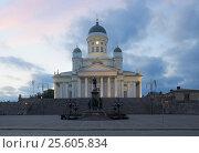 Купить «Собор Святого Николая. Хельсинки», фото № 25605834, снято 21 июня 2013 г. (c) Сапрыгин Сергей / Фотобанк Лори