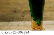 Купить «Green beer for st patricks», видеоролик № 25606894, снято 11 июля 2020 г. (c) Wavebreak Media / Фотобанк Лори