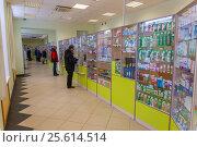 Купить «Интерьер аптеки», фото № 25614514, снято 22 февраля 2017 г. (c) Акиньшин Владимир / Фотобанк Лори