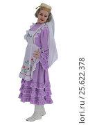 Девушка в традиционном праздничном татарском костюме. Стоковое фото, фотограф Гузель Гарипова / Фотобанк Лори