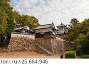 Купить «Замок Биттю Мацуяма (17 в.), город Такахаси. Один из 12 сохранившихся замков в Японии», фото № 25664946, снято 20 июля 2016 г. (c) Иван Марчук / Фотобанк Лори