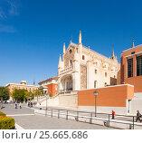 Купить «San Jerónimo el Real Calle Moreto, 4, 28014 Madrid Испания», эксклюзивное фото № 25665686, снято 5 октября 2012 г. (c) Владимир Чинин / Фотобанк Лори