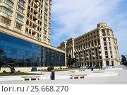 Купить «Проспект Гейдара Алиева, Баку, Азербайджан», фото № 25668270, снято 22 января 2019 г. (c) severe / Фотобанк Лори