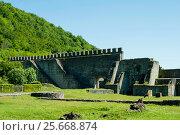 Купить «Nokalakevi - fortress in the western part of Georgia», фото № 25668874, снято 9 мая 2016 г. (c) Давидич Максим / Фотобанк Лори