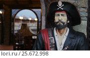 Купить «Artificial Pirat Model», видеоролик № 25672998, снято 13 января 2016 г. (c) Станислав Панкратов / Фотобанк Лори