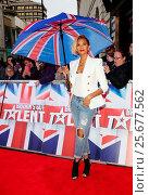 Купить «Britains Got Talent London auditions - Arrivals Featuring: Alesha Dixon Where: London, United Kingdom When: 26 Jan 2016 Credit: Lia Toby/WENN.com», фото № 25677562, снято 26 января 2016 г. (c) age Fotostock / Фотобанк Лори