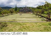 Купить «Buddhist Monastery Brahma Vihara Ashrama, Wihara Buddha Banjar, Bali, Indonesia», фото № 25697466, снято 26 марта 2014 г. (c) mauritius images / Фотобанк Лори