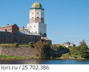 Купить «Башня Св. Олафа», фото № 25702386, снято 3 сентября 2016 г. (c) Андрей Липинский / Фотобанк Лори