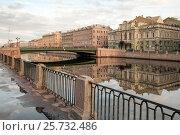 Купить «Санкт-Петербург. Река Фонтанка», эксклюзивное фото № 25732486, снято 18 августа 2009 г. (c) Александр Алексеев / Фотобанк Лори