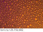 Фон пузырьки оранжевый. Стоковое фото, фотограф Карташов Евгений / Фотобанк Лори