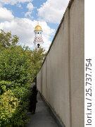 Chitcani, Moldova, bell tower of the monastery Neu-Niamtz (2016 год). Редакционное фото, агентство Caro Photoagency / Фотобанк Лори