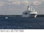 Купить «Eckernfoerde, Germany, MS Germany in Eckernfoerder Bay», фото № 25737926, снято 3 сентября 2016 г. (c) Caro Photoagency / Фотобанк Лори