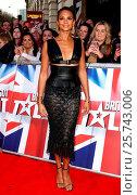 Купить «Britain's Got Talent Auditions - Arrivals Featuring: Alesha Dixon Where: London, United Kingdom When: 22 Jan 2016 Credit: WENN.com», фото № 25743006, снято 22 января 2016 г. (c) age Fotostock / Фотобанк Лори