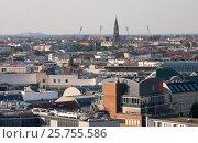 Купить «Вид на Берлин со смотровой площадки Берлинского кафедрального собора (Berliner Dom)», фото № 25755586, снято 3 августа 2015 г. (c) Наталья Николаева / Фотобанк Лори