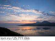Sound of Jura at dawn, Islay, Scotland, UK, June. Стоковое фото, фотограф Niall Benvie / Nature Picture Library / Фотобанк Лори