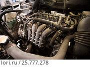Купить «car engine close up», фото № 25777278, снято 1 июля 2016 г. (c) Syda Productions / Фотобанк Лори
