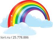Купить «Rainbow», иллюстрация № 25778886 (c) Савицкая Татьяна / Фотобанк Лори