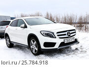 Купить «Mercedes-Benz X156 GLA-class», фото № 25784918, снято 5 марта 2017 г. (c) Art Konovalov / Фотобанк Лори