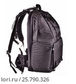 Купить «Backpack isolated on White», фото № 25790326, снято 14 ноября 2013 г. (c) Владимир Ковальчук / Фотобанк Лори