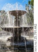Купить «Fountain Bowl in Tver», фото № 25791442, снято 25 июля 2015 г. (c) Андрей Андронов / Фотобанк Лори
