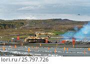 Купить «Armoured deminer BMR-3M», фото № 25797726, снято 11 сентября 2015 г. (c) Elena Odareeva / Фотобанк Лори