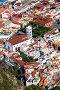 Вид сверху на город Гарачико с обзорной площадки (мирадор). Тенерифе, Канарские острова, Испания, фото № 25799370, снято 8 января 2016 г. (c) Кекяляйнен Андрей / Фотобанк Лори