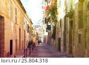 Купить «picturesque houses of Valletta», фото № 25804318, снято 16 декабря 2010 г. (c) Яков Филимонов / Фотобанк Лори
