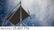 Купить «Composite image of 3d image of scaffolding», фото № 25807770, снято 17 июня 2019 г. (c) Wavebreak Media / Фотобанк Лори