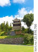 Купить «Южная Башня (16 в.) замка Уэда, г. Уэда, Япония», фото № 25816766, снято 4 августа 2016 г. (c) Иван Марчук / Фотобанк Лори
