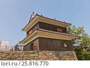 Купить «Западная Башня (16 в.) замка Уэда, г. Уэда, Япония», фото № 25816770, снято 4 августа 2016 г. (c) Иван Марчук / Фотобанк Лори
