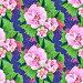 Бесшовный декоративный узор,  цветы, иллюстрация № 25824050 (c) Наталия Кузнецова / Фотобанк Лори