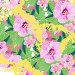 Декоративный узор, розовые цветы, иллюстрация № 25835842 (c) Наталия Кузнецова / Фотобанк Лори